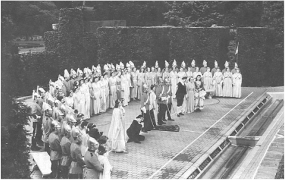 1950 Production of Patience at Longwood Gardens